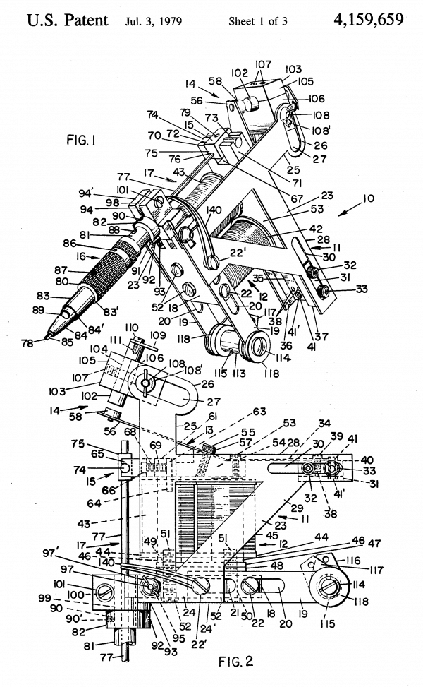 history of the electric tattoo machine